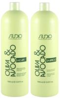 Набор косметики для волос Kapous Studio Professional Увлажняющий шампунь 1л+бальзам 1л -