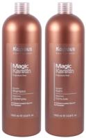 Набор косметики для волос Kapous Magic Keratin Шампунь 1л+бальзам 1л -