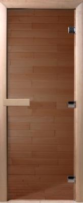 Стеклянная дверь для бани/сауны Doorwood 200x70