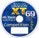 Леска монофильная Dragon XT 69 Hi-Tech Pro Competition 0.30мм 125м / 33-30-030 -