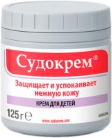 Крем детский Судокрем Успокаивает и защищает нежную кожу (125г) -