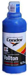 Колеровочная паста CONDOR Vollton 774 (750г, темно-синий)