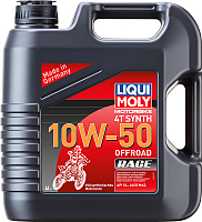 Моторное масло Liqui Moly Motorbike 4T Synth Offroad Race 10W50 / 3052 (4л) -