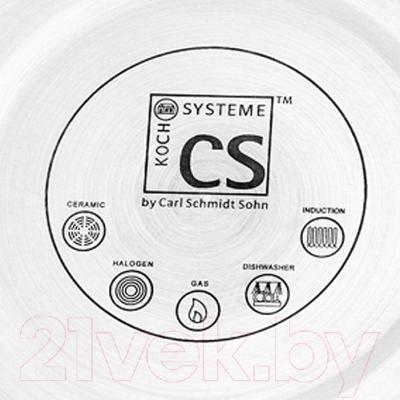 Чайник со свистком CS-Kochsysteme 066598 (2л)