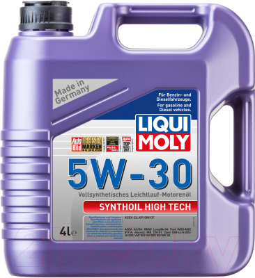 Моторное масло Liqui Moly Synthoil High Tech 5W30 / 20958 (4л)