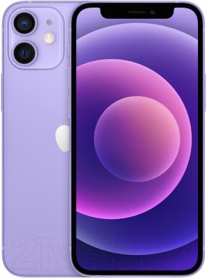 Смартфон Apple iPhone 12 Mini 64GB / MJQF3 (фиолетовый)
