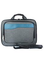 Сумка для ноутбука Galanteya 19214 / 8с2419к45 (темно-серый/бирюза) -