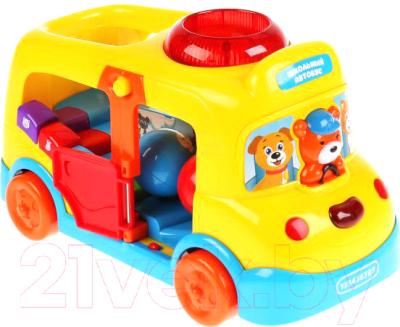 Развивающая игрушка Умка Обучающий автобус / 1801I210
