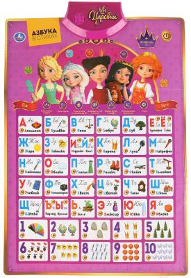 Развивающая игра Умка Говорящий плакат Царевны Азбука / HX0251-R37