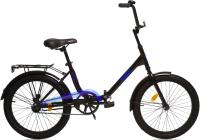 Детский велосипед AIST Smart 20 1.1 2021 (20, черный/синий) -