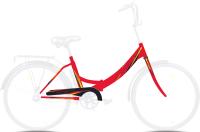 Велосипед AIST Smart 24 1.0 2021 (24, красный) -