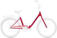 Велосипед AIST Smart 24 1.1 2021 (24, красный/черный) -
