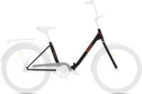 Велосипед AIST Smart 24 1.1 2021 (24, черный/красный) -