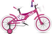 Детский велосипед STARK Tanuki 18 Girl 2021 (розовый/фиолетовый) -