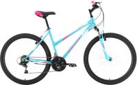 Велосипед Black One Alta 26 2021 (16, белый/розовый/голубой) -