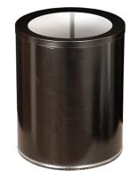 Корзина для бумаг Титан Мета 250 (черный) -