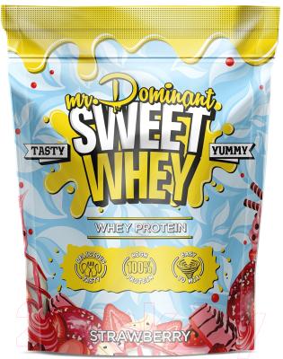 Протеин Mr.Dominant Sweet Whey Клубника