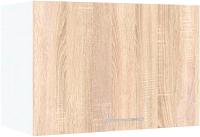 Шкаф под вытяжку Кортекс-мебель Корнелия Экстра ВШГ50-1г-360 (дуб сонома) -