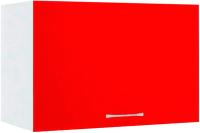 Шкаф под вытяжку Кортекс-мебель Корнелия Экстра ВШГ50-1г-360 (красный) -