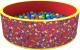Игровой сухой бассейн Romana Веселая поляна ДМФ-МК-02.51.02 (100 шариков, красный) -