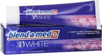 Зубная паста Blend-a-med 3D White бодрящая свежесть (100мл) -