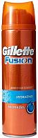 Гель для бритья Gillette Fusion Hydrating увлажняющий (200мл) -