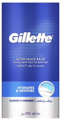Бальзам после бритья Gillette Mach3 Soothing успокаивающий (100мл)