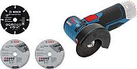 Профессиональная угловая шлифмашина Bosch GWS 12V-76 Professional (0.601.9F2.000) -