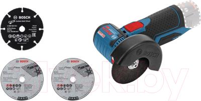 Профессиональная угловая шлифмашина Bosch GWS 12V-76 Professional (0.601.9F2.000)