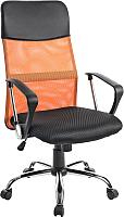 Кресло офисное Mio Tesoro Монте AF-C9767 (черный/оранжевый) -