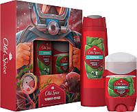 Набор косметики для тела и волос Old Spice Citron дезодорант твердый 50мл+гель-шампунь для душа 250мл -
