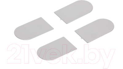 Комплект накладок на скрытые петли AGB Eclipse 3.0