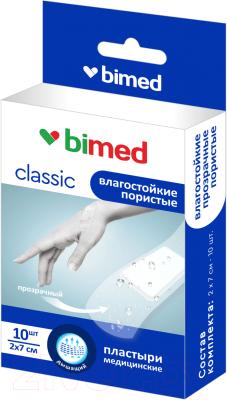 Пластырь медицинский Bimed Влагостойкий прозрачный