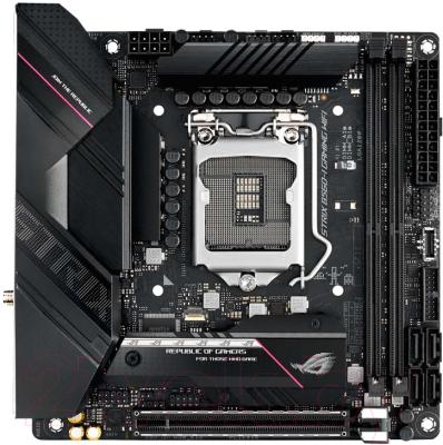 Материнская плата Asus Rog Strix B560-I Gaming WiFi монитор asus tuf gaming vg27aq 27 черный