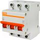 Выключатель автоматический TDM ВА 47-100 3Р 63А (C) 10кА / SQ0207-0075 -