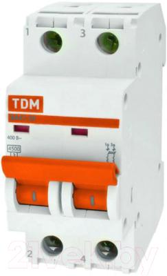 Выключатель автоматический TDM ВА 47-29 2Р 32А (C) 4.5кА / SQ0206-0096