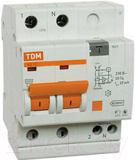 Дифференциальный автомат TDM АД-12-2Р-25А-30мА / SQ0204-0011