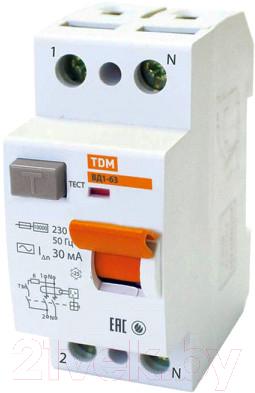Дифференциальный автомат TDM ВД1-63-2Р-32А-30мА / SQ0203-0010