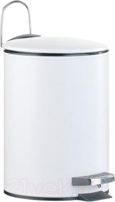 Мусорное ведро Axentia 251181 (3л, белый)