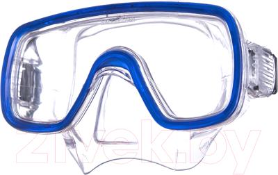 Маска для плавания Salvas Domino Sr Mask / CA150C1TBSTH маска для плавания salvas phoenix mask арт ca520s2bysth зак стекло силикон р senior сереб син