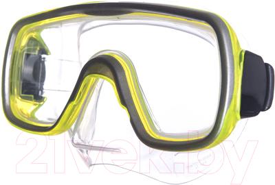 Маска для плавания Salvas Geo Jr Mask / CA105S1GYSTH маска для плавания salvas phoenix mask арт ca520s2bysth зак стекло силикон р senior сереб син