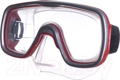 Маска для плавания Salvas Geo Sr Mask / CA175S1RYSTH маска для плавания salvas geo sr mask арт ca175s1rysth закален стекло силикон р senior красный