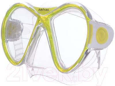 Маска для плавания Salvas Kool Mask / CA550S2TBSTH маска для плавания salvas phoenix mask арт ca520s2bysth зак стекло силикон р senior сереб син