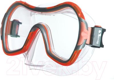 Маска для плавания Salvas Viva Sr Mask / CA535S1RYSTH маска для плавания salvas phoenix mask арт ca520s2bysth зак стекло силикон р senior сереб син