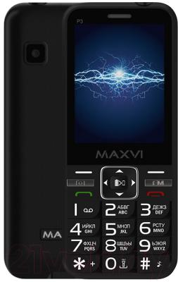 Мобильный телефон Maxvi P3 мобильный телефон maxvi b9 black