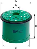 Топливный фильтр Hengst E60KP -