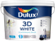Краска Dulux 3D (10л, белый матовый) -