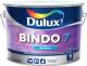 Краска Dulux Bindo 7 для стен и потолков (9л, бесцветный матовый) -