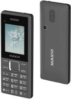 Мобильный телефон Maxvi C9i (серый/черный) -