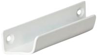 Ручка балконная Добрае акенца Ракушка С 3010 / РуББ001 (белый) -